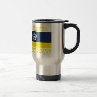 Regina Designs 15 Oz Stainless Steel Travel Mug