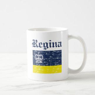 regina designs classic white coffee mug