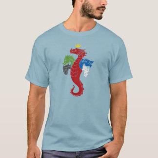 Regina Draconum (Stonewashed Blue) T-Shirt