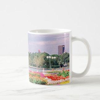 regina - legislative gardens painted basic white mug