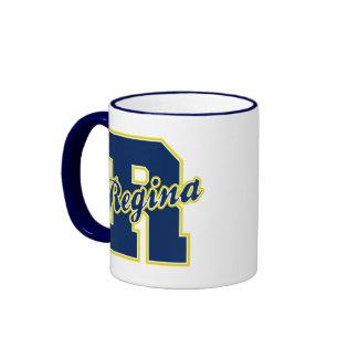 Regina Letter Ringer Mug