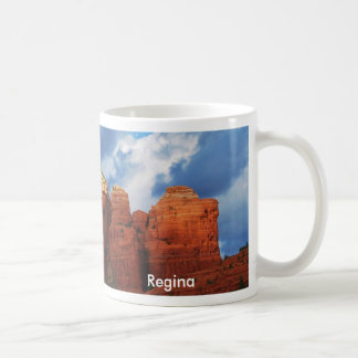 Regina on Coffee Pot Rock Mug