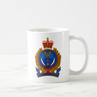 Regina Police Service Coat Of Arms Basic White Mug