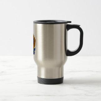 Regina Police Service Coat Of Arms Stainless Steel Travel Mug