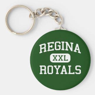 Regina - Royals - High School - South Euclid Ohio Key Ring