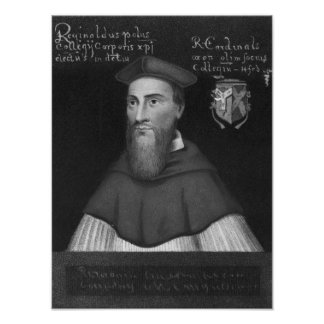 Reginald Cardinal Pole Poster
