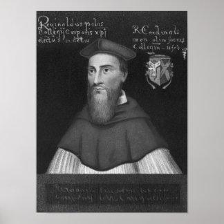 Reginald Cardinal Pole Poster