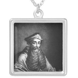 Reginald Pole  illustration Silver Plated Necklace