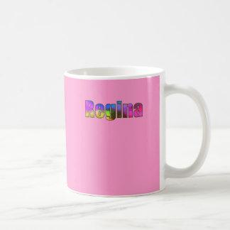 Regina's coffee mug