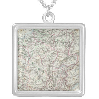 Region of Paris France Silver Plated Necklace