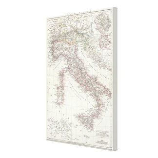 Region of Rome Italy Canvas Print