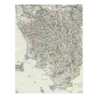 Region of Tuscany Italy Postcard