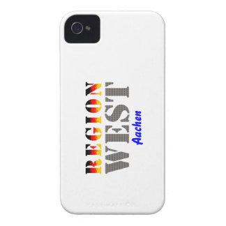 Region west - Aachen iPhone 4 Case-Mate Cases