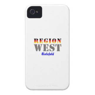Region west - Bielefeld iPhone 4 Cover