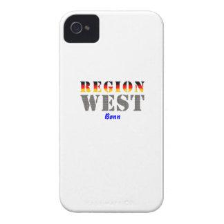 Region west - Bonn Case-Mate iPhone 4 Cases
