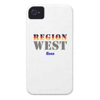 Region west - Bonn iPhone 4 Case-Mate Cases