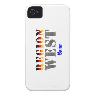 Region west - Bonn Case-Mate iPhone 4 Cases