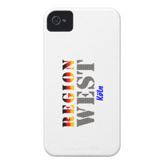 Region west - Cologne Case-Mate iPhone 4 Cases