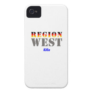 Region west - Cologne iPhone 4 Covers