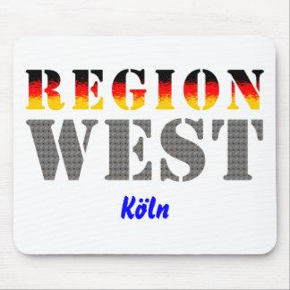 Region west - Cologne Mouse Pads