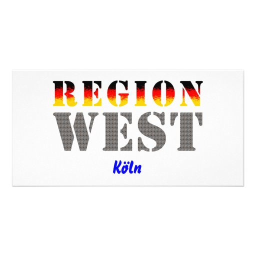 Region west - Cologne Photo Greeting Card