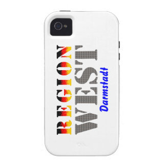 Region west - Darmstadt Vibe iPhone 4 Cover
