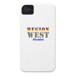 Region west - Duesseldorf iPhone 4 Case-Mate Cases