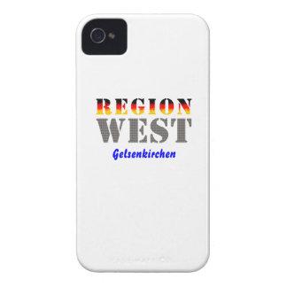 Region west - Gelsenkirchen iPhone 4 Cases