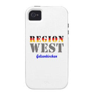 Region west - Gelsenkirchen Vibe iPhone 4 Cases
