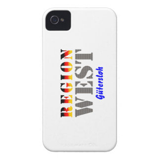 Region west - Gütersloh Case-Mate iPhone 4 Cases