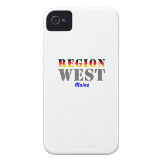 Region west - Mainz iPhone 4 Case-Mate Cases