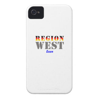 Region west - meals Case-Mate iPhone 4 case