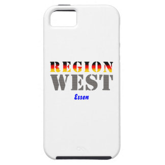 Region west - meals iPhone 5 cover