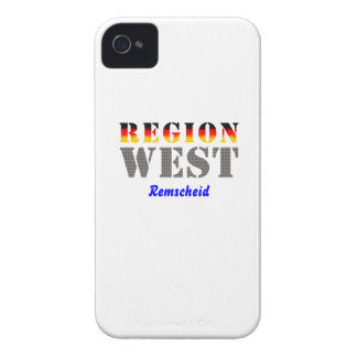 Region west - rem-separate Case-Mate iPhone 4 cases