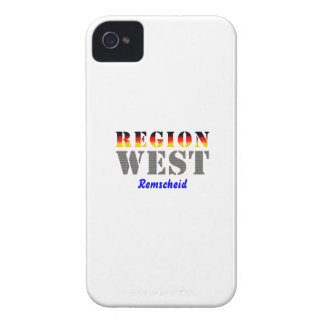 Region west - rem-separate iPhone 4 Case-Mate case