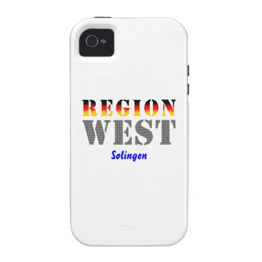 Region west - Solingen iPhone 4/4S Cases