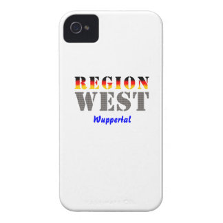 Region west - Wuppertal iPhone 4 Cases