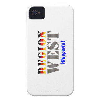 Region west - Wuppertal iPhone 4 Case-Mate Cases