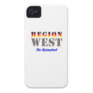 Region west - your place of residence Case-Mate iPhone 4 cases