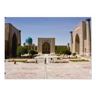 Registan, Samarkand 13 Cm X 18 Cm Invitation Card