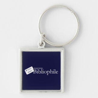 Registered Bibliophile Key Ring