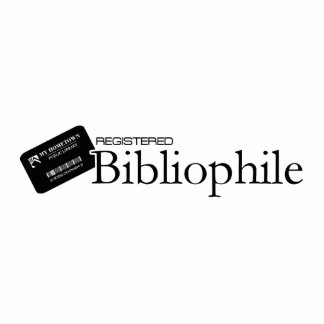 Registered Bibliophile Standing Photo Sculpture