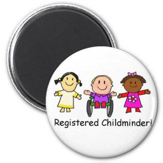 Registered Childminder Refrigerator Magnets