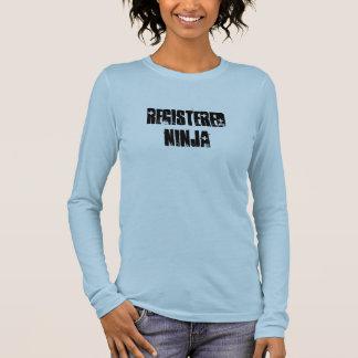 Registered Ninja (BSN, RN) Long Sleeve T-Shirt