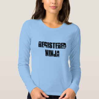 Registered Ninja (BSN, RN) T Shirt