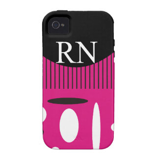 Registered Nurse Abstract Design iPhone 4/4S Case