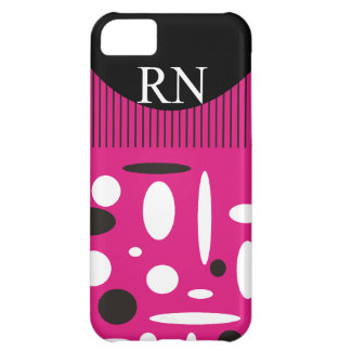 Registered Nurse Abstract Design Cover For iPhone 5C