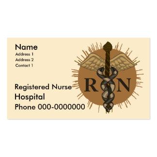 Registered Nurse Pack Of Standard Business Cards