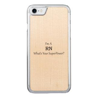 Registered Nurse Carved iPhone 8/7 Case