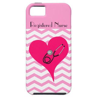 Registered Nurse Chevron Design iPhone 5 Cover